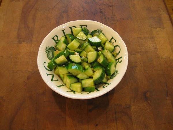 Spicy Asian Cucumbers Recipe