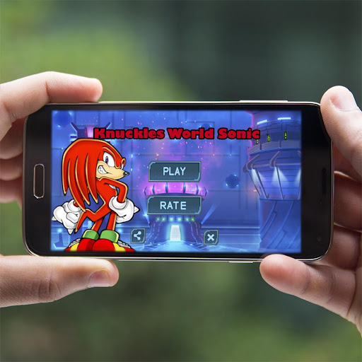 Knuckles World Sonic - screenshot