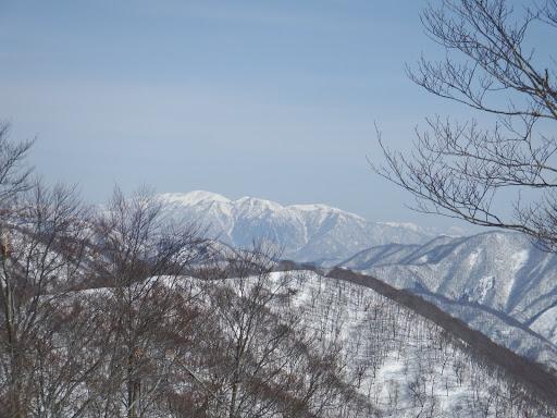 能郷白山がよく見えて