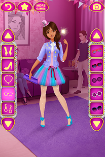 Oblíkačka Party – dívčí hry - náhled