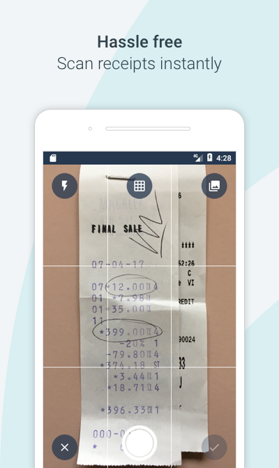 Receipts by Wave for business- screenshot