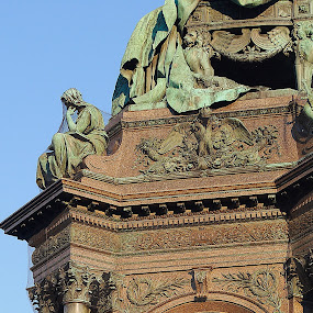 Maria-Theresien-Platz~Vienna by Ray Anthony Di Greco - Buildings & Architecture Public & Historical