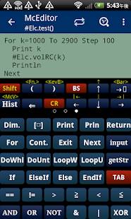 McCal Scientific Calculator- screenshot thumbnail