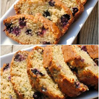 Zucchini Blueberry Bread.