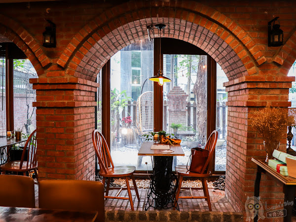 樹宅院,隱身捷運旁的夢幻老宅/台北老屋咖啡/南京復興站