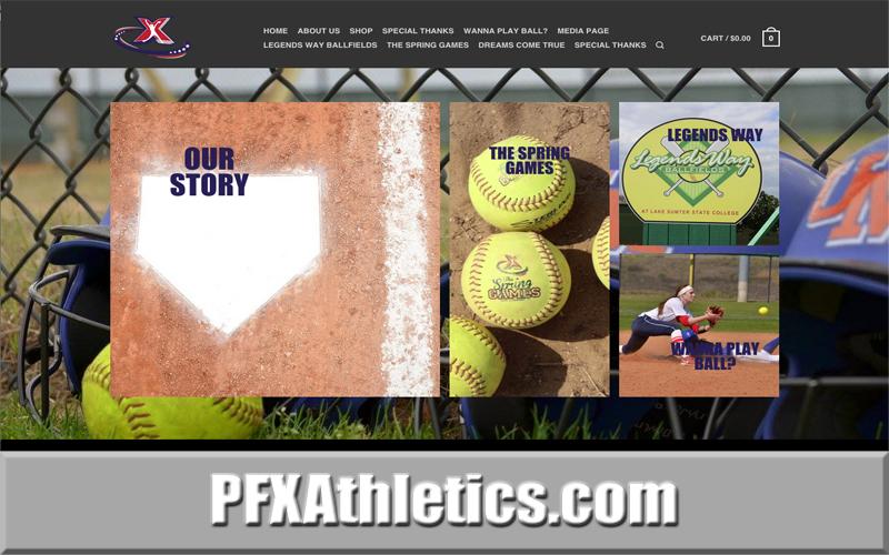 PFX Athletics Softball Website