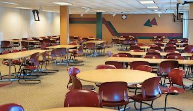 Photo: cafeteria dining room