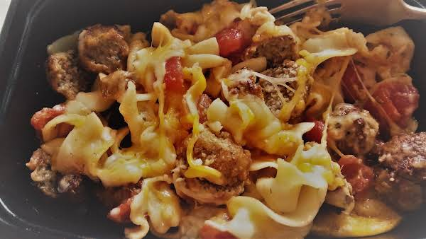 Noodles And Meatballs Recipe