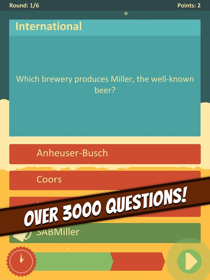 The Beer Quiz- screenshot