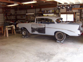 Photo: 1956 Chevrolet Hardtop Coupe project car for sale