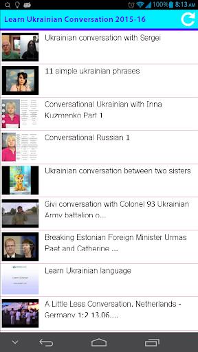 Learn Ukrainian Conversation