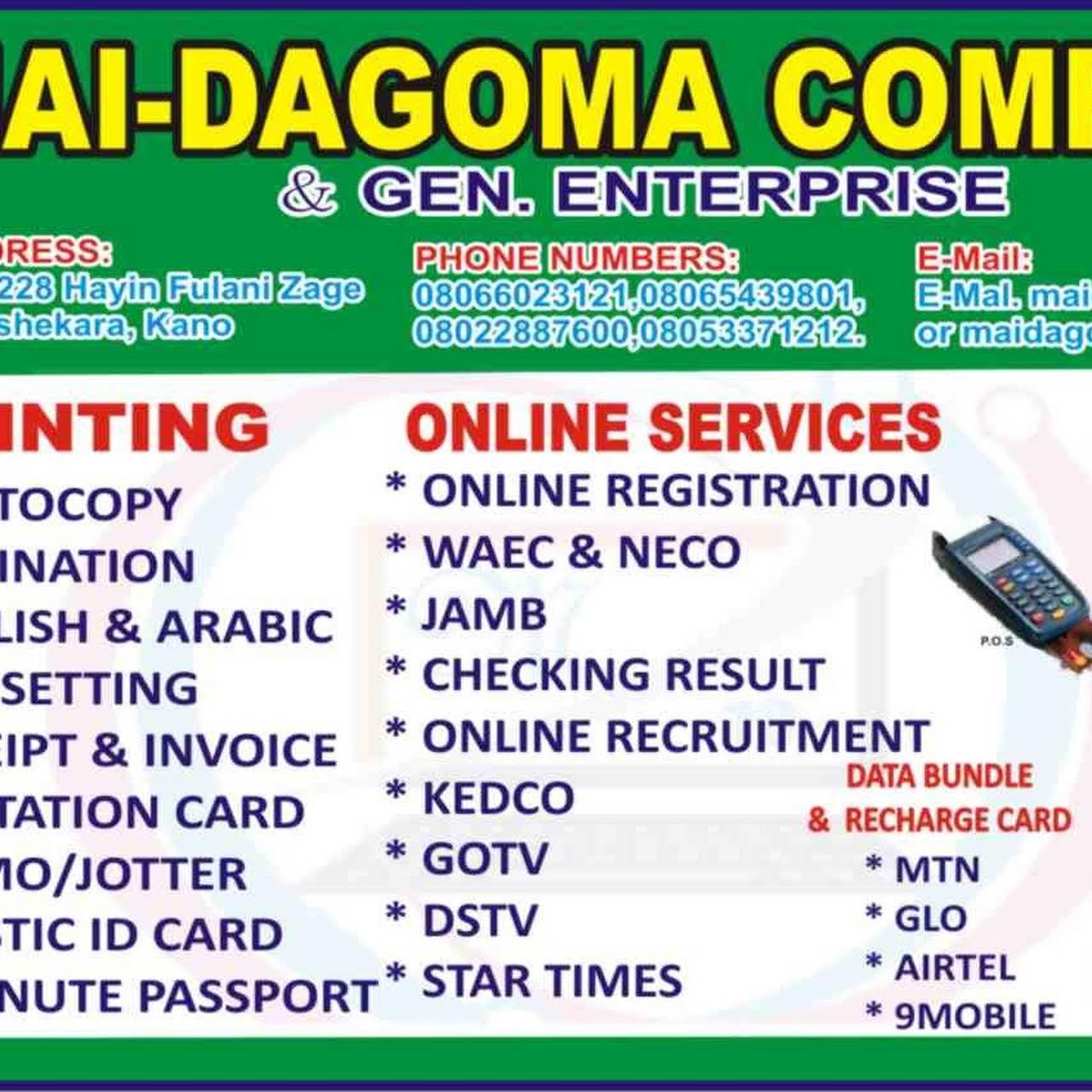 Maidagoma computers & Gen  Ent  - Computer Service in Panshekara