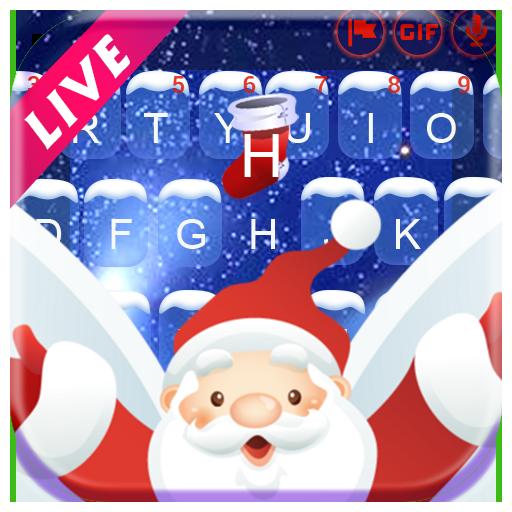 Animated Christmas Keyboard Theme Icon