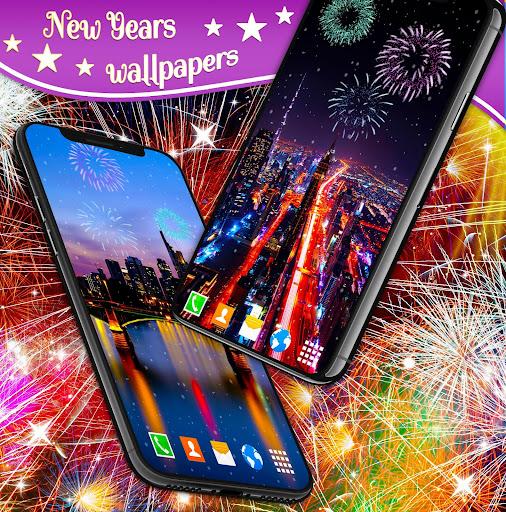 New Years 2019 Fireworks Live Wallpaper 4.8.4 screenshots 4