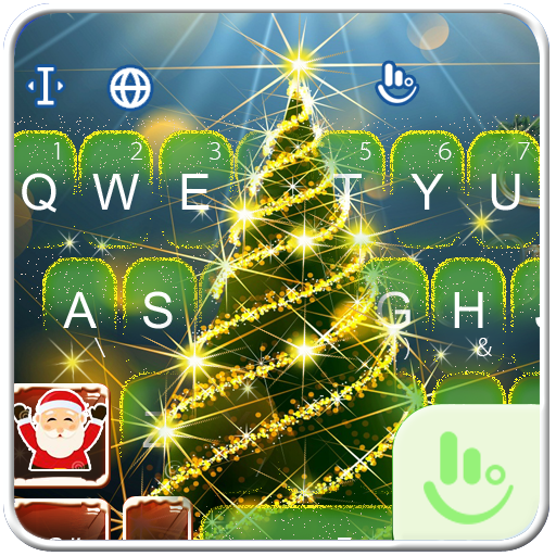 Christmas Tree Keyboard Theme