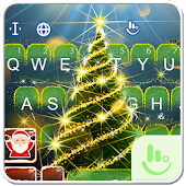 Live 3D Christmas Tree Keyboard Theme