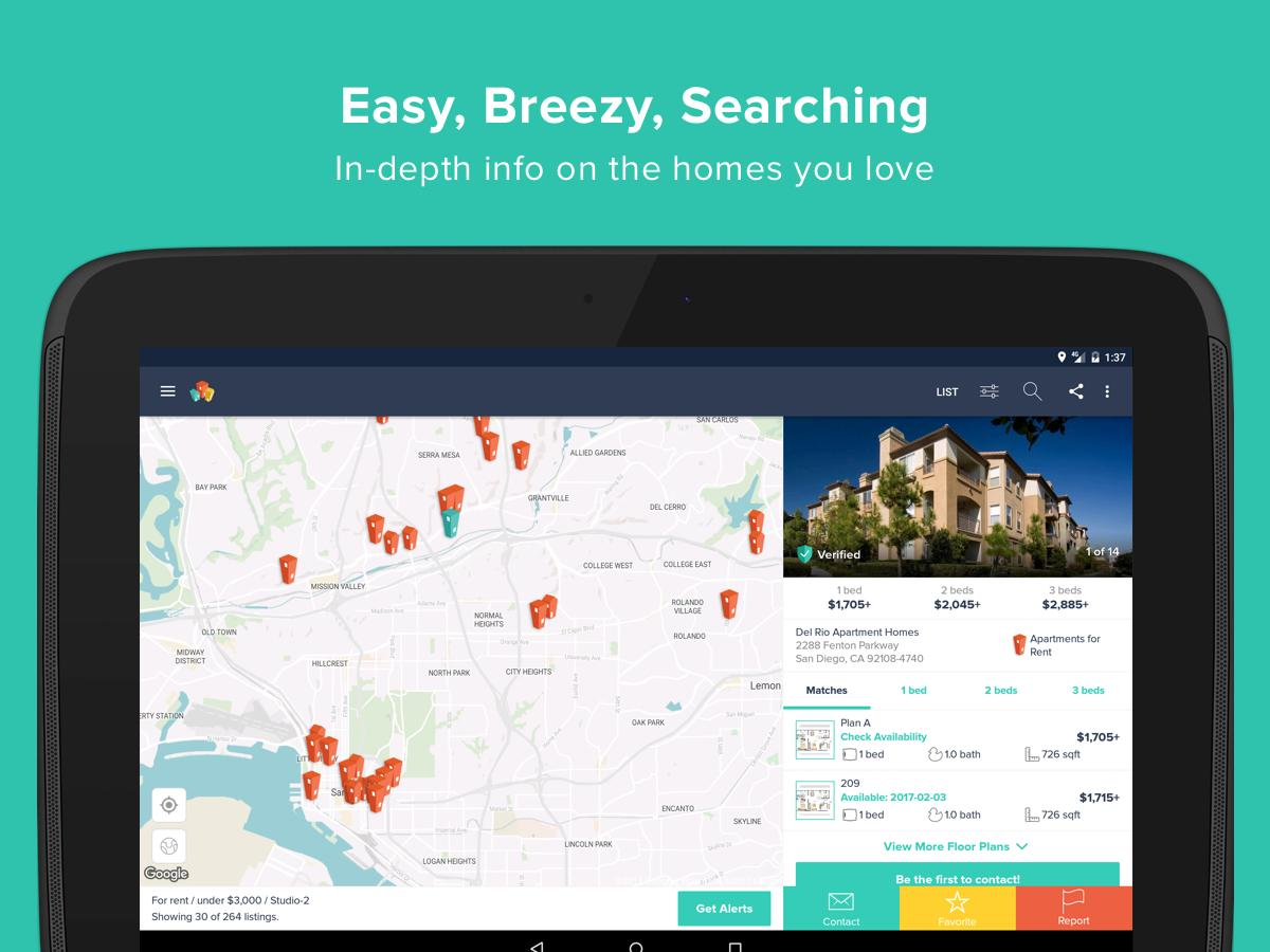 HotPads Apartments & Home Rentals- screenshot