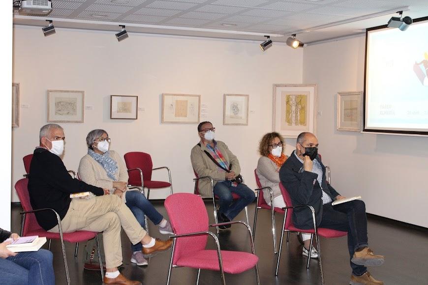 Lectores asistentes al acto.