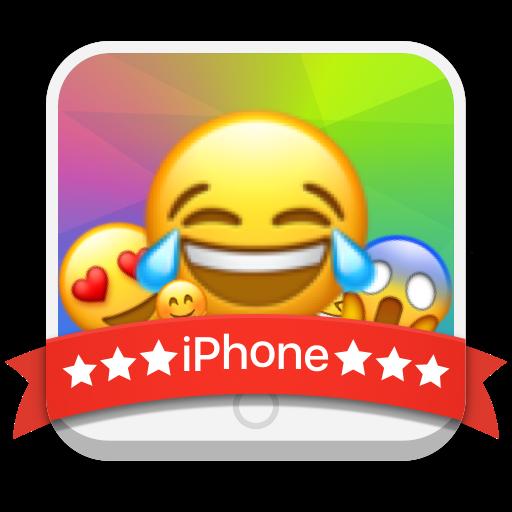 iPhone 8 Emoji Keyboard Theme Icon