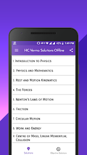 HC Verma Solutions Offline with Objective - Apps on Google Play
