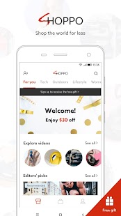 Shoppo: Shop the world for less - náhled
