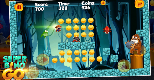 Screenshot for Super Bino Go - New Games 2019 in United States Play Store