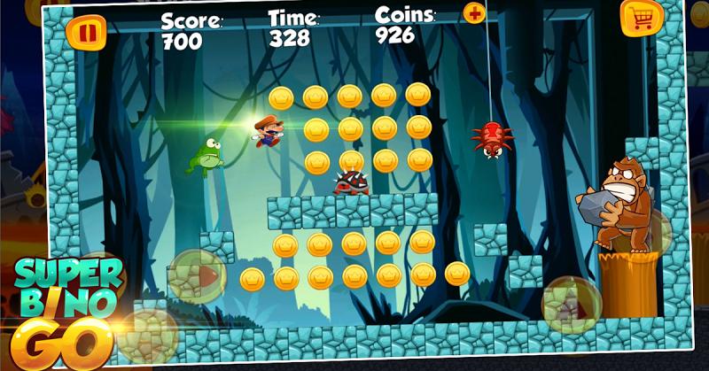 Super Bino Go - New Games 2019 Screenshot 1