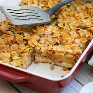 Ham & Cheese Brunch Strata