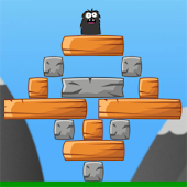 Totem Destroyer - Physics game