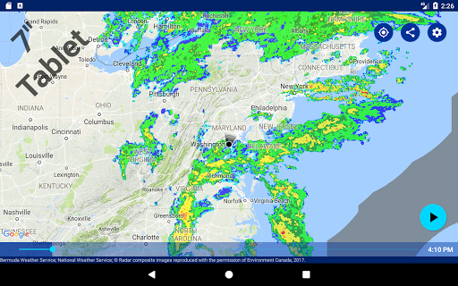 Rain Alarm Screenshot
