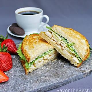 Chicken Caesar Sandwich.