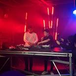 my favorite DJs Hotel Garuda playing their set at the Velvet Underground in Toronto in Toronto, Ontario, Canada