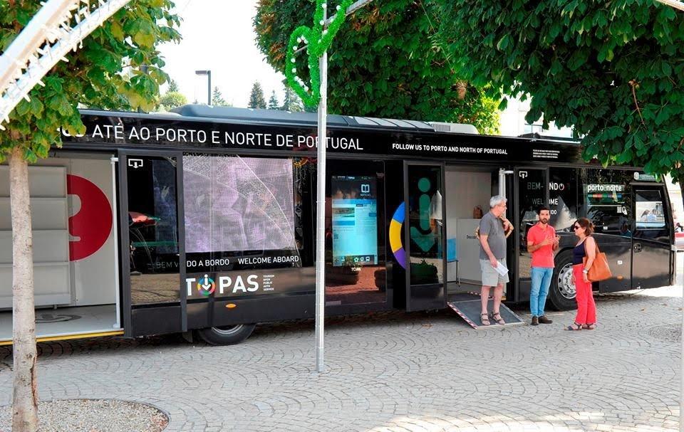 TOPAS dá informação turística durante a