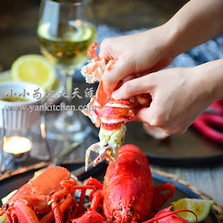 Boiled Lobsters.