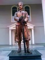 Statue of Khudadad Khan at Army Museum Rawalpindi