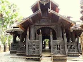 Photo: #004-Inwa (Ava), le monastère Bagaya Kyaung.