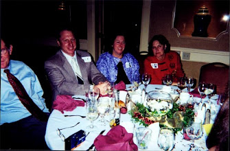 Photo: Roger Andrews, Ernie Coco, Shirley Standlee, & Carol Blackwell at the 2002 ReUnion