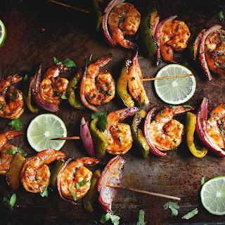 Grilled Chili Lime Shrimp Kabobs Recipe