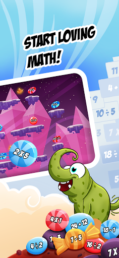 monster math 2: fun math games. kids grade k-5 screenshot 2