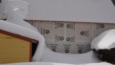 Photo: Snow load on north side.