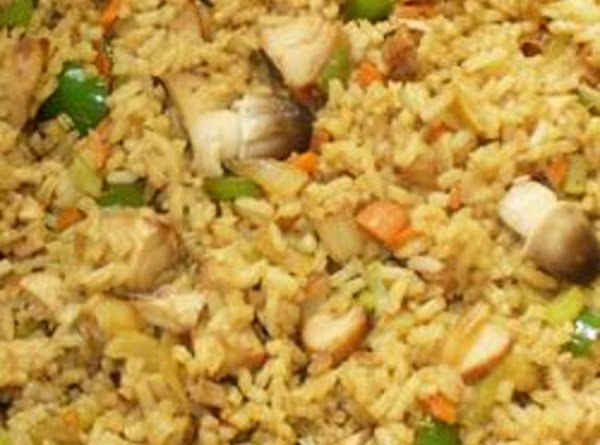 Tasty Chinese Chicken Fried Rice Recipe
