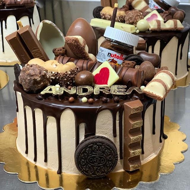 Algunas de las tartas de \'del Águila\'.