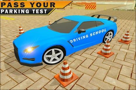 Driving School Car Parking 3D - náhled