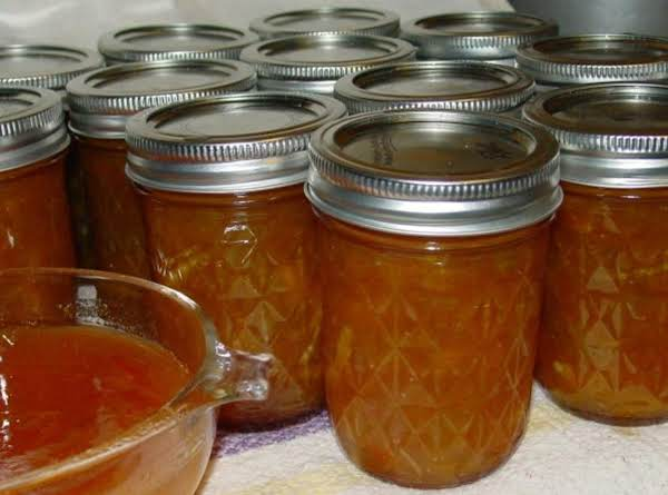 Pam's Navel Orange, Clementine And  Rhubarb Marmalade Recipe
