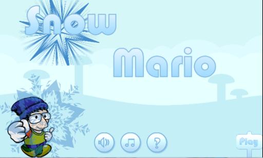 Snow Mario Adventure