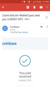 Claim Bitcoin Wallet- screenshot thumbnail