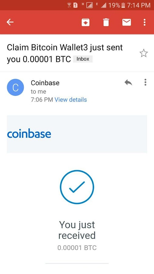 Claim Bitcoin Wallet- screenshot