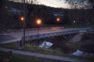 Photo: Marietta Street Bridge over Fishing River