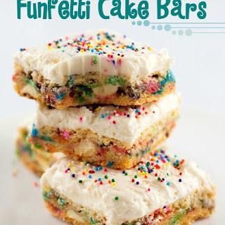 Cake Batter Bars.