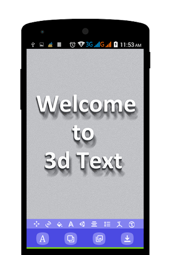 3D Text On Pictures - Logo & Name Art 1.8 Screenshots 5